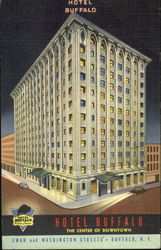 Hotel Buffalo, Swan and Washigton Streets