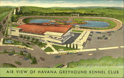 Air View Of Havana Greyhound Kennel Club