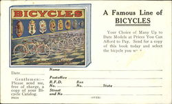 A Famous Line Of Bicycles