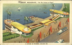 Thompson's Restaurants On The Avenue Of Flags, A Century of Progress 1934