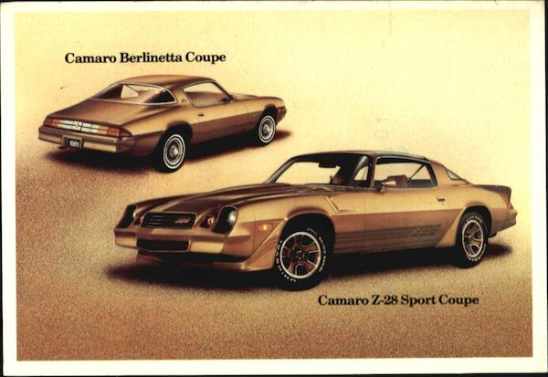 1981 Camaro Coupe Z-28 Cars