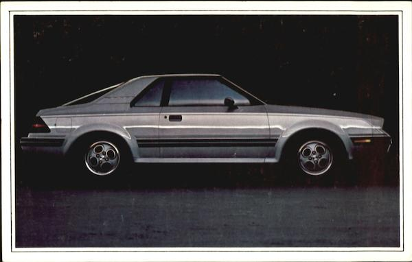1982 Mercury LN7 Cars