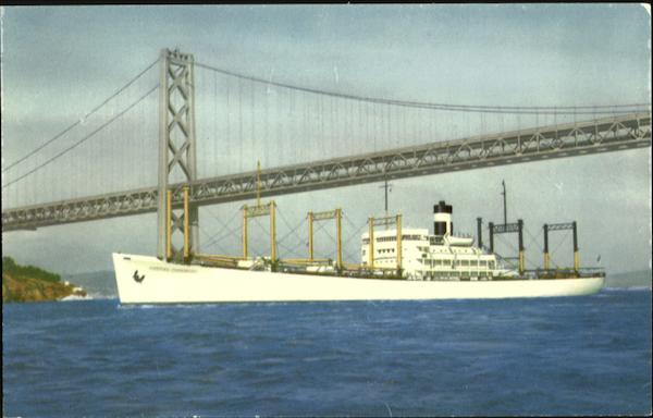Outbound to the Orient, S.S. America Transport Boats, Ships