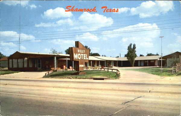 Kelly Motel Shamrock, Texas