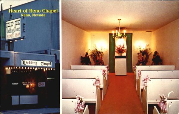 Heart Of Reno Wedding Chapel