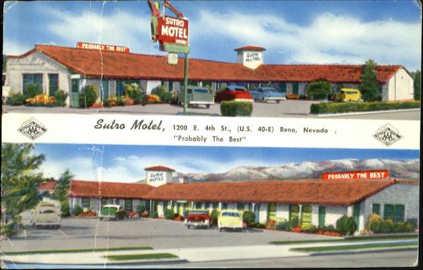 Sutro Motel Reno Nv