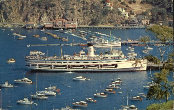 The Steamer Catalina Santa Catalina Island California