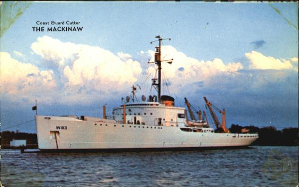 Coast Guard Cutter: The Mackinaw Cheboygan Michigan