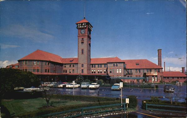 Portland's Picturesque Union Station Oregon