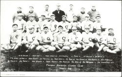 Team picture of the 1906 Chicago White Sox