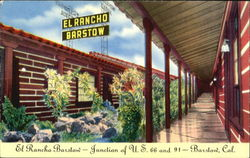 El Rancho Barstow - Junction of U.S. 66 and 91 - Barstow, Cal