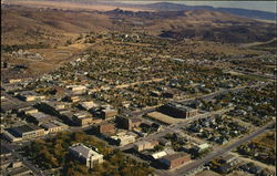 Aerial view of Prescott, Arizona