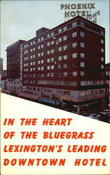In the Heart of the Bluegrass Lexington's Leading Downtown Hotel