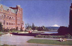 University of Washing, Seattle Postcard
