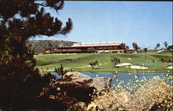 The Clubhouse and 6th Green