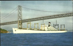 Outbound to the Orient, S.S. America Transport