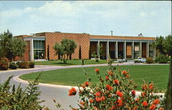The Education Building of Biola College Postcard