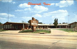 Kelly Motel Shamrock, Texas Postcard