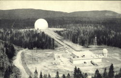 Bell Telephone System's Earth Station at Andover, Me