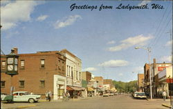 Greetings from Ladysmith, Wis