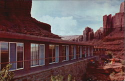 Harry Goulding's Monument Valley Lodge and Trading Post. Post Office