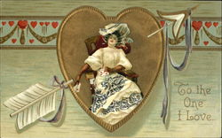 Card-Playing Lady Valentine