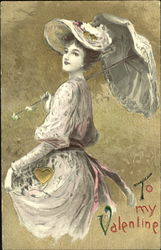 Lady with Parasl
