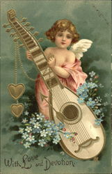 Cupid with Mandolin