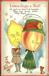 Mr. Lemon and Ms. Peach