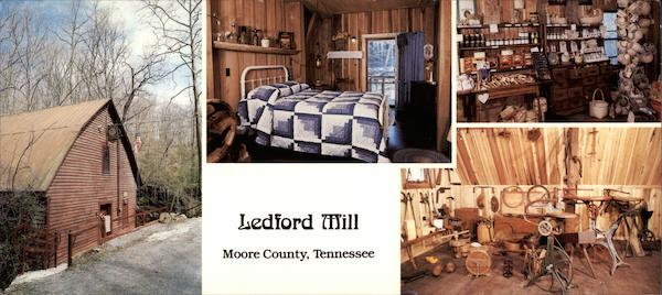 Ledford Mill Moore County, Tennessee Wartrace