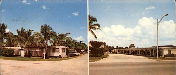 Naples Motel and Trailer Park Florida