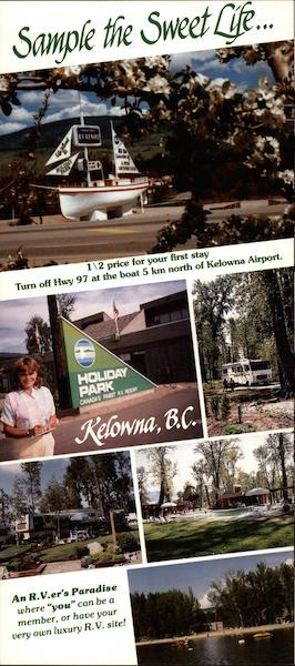 Holiday Park Kelowna Canada British Columbia