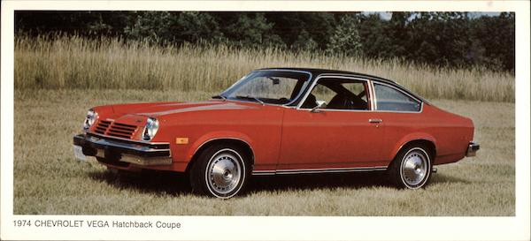 1974 Chevrolet Vega Hatchback Coupe Cars