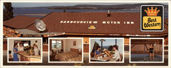 Harbourview Motor Inn Nanaimo Canada British Columbia