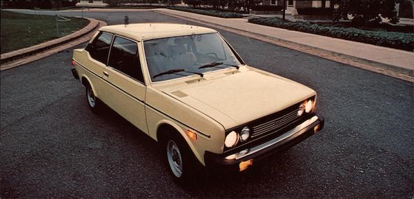 Fiat 131 Two Door Coupe Cars