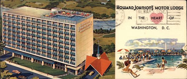 Howard Johnson's Motor Lodge Washington District of Columbia