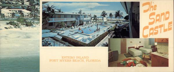 The Sand Castle Motel, Estero Island Fort Myers Florida