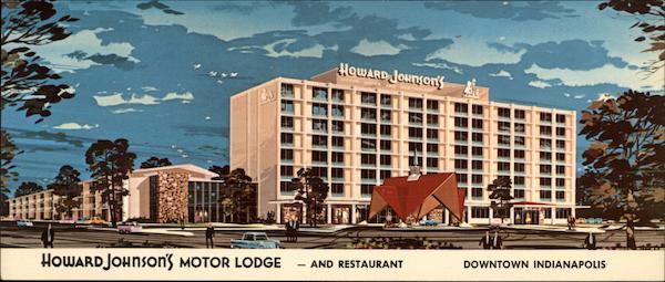 Howard Johnson 39 S Motor Lodge And Restaurant Indianapolis In