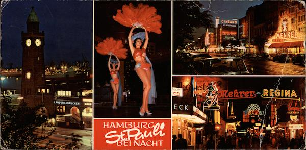 Hamburg St. Pauli Nighlife Germany