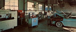 Vance & Sons Motor Tune Department Large Format Postcard