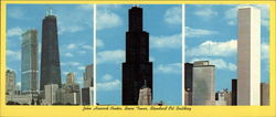 Skyscrapers of Chicago Large Format Postcard