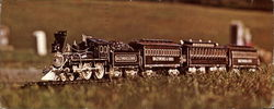 The Lincoln Funeral Train carved by Ernest Warther