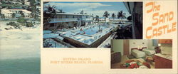 The Sand Castle Motel, Estero Island Large Format Postcard