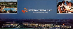 Ramada Court of Flags Resort and Conference Hotel Large Format Postcard