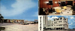 Vendome Apartments on the Ocean Large Format Postcard