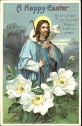 With Jesus Christ Vintage Postcards Images