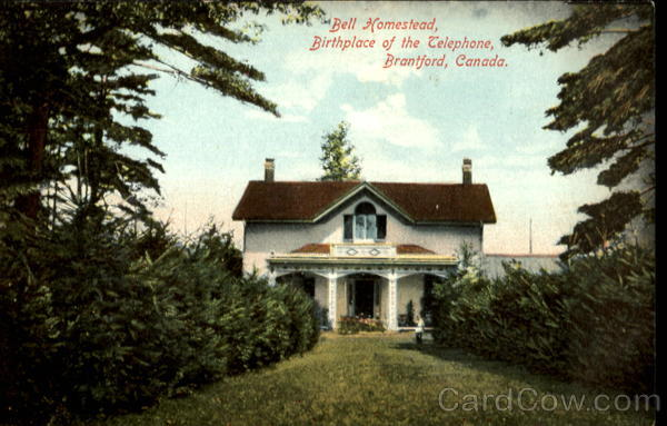 Bell Homestead, Birthplace of the Telephone, Branford, Canada