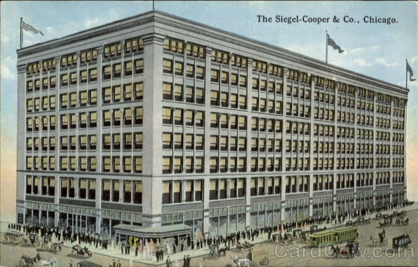The Siegal-Cooper & Co Chicago Illinois