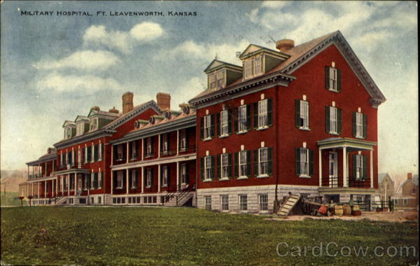 What Is My Paypal Email >> Military Hospital Fort Leavenworth, KS