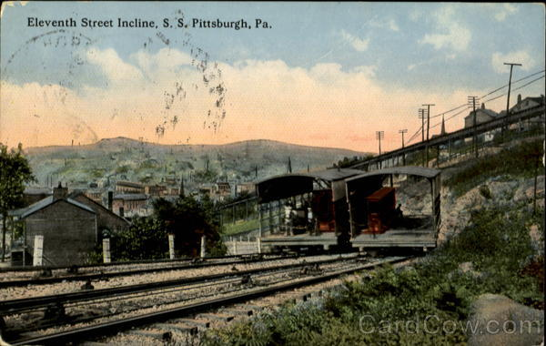 Eleventh Street Incline Pittsburgh Pennsylvania